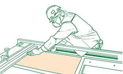 corte de madera de tableros a medida