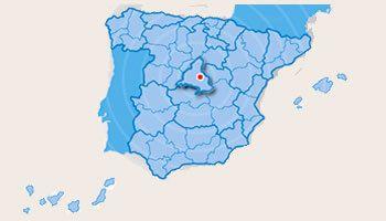 mapa de transporte envios a toda España