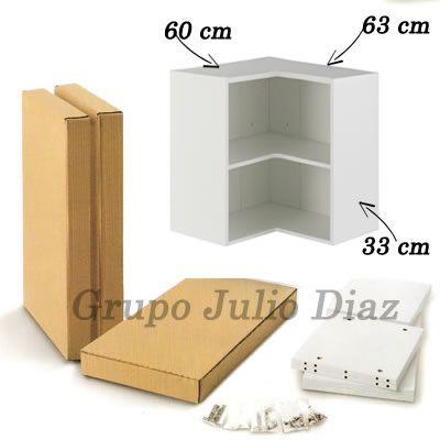 Modulo rinconera grupo julio diaz for Mueble alto de cocina esquinero