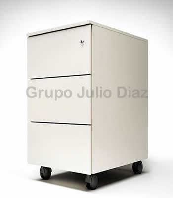 Cajonera met lica ruedas jd3 grupo julio diaz - Cajonera para oficina ...