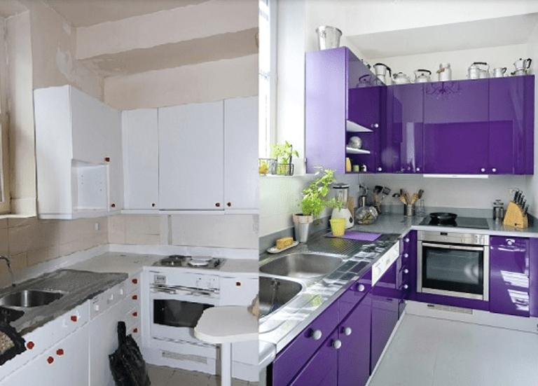 Lacado de muebles de cocina a un precio muy barato » Grupo ...