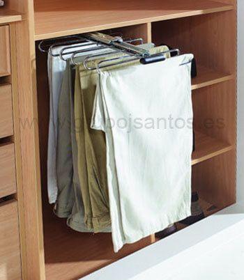 Pantaloneros para armarios grupo julio diaz for Armarios muy baratos